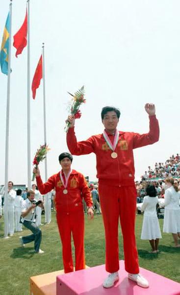 1984年洛杉矶奥运会 许海峰