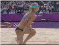 奥运视频-两金花救球终成空 沙排中国VS俄罗斯
