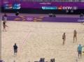奥运视频-张希暴扣底线球 俄罗斯选手措不及防