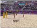 奥运视频-女子沙排中国队遭逆转 1-2不敌俄罗斯