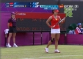 奥运视频-李娜奔跑中反吊球 汉图楚娃措不及防