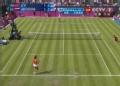 奥运视频-李娜左吊球暴扣底线球 奥运女单网球