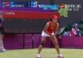 奥运视频-汉图楚娃一分钟内连下两球 李娜危机