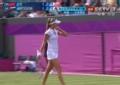 奥运视频-汉图楚娃高质量接发球 直接变线得分