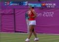奥运视频-李娜连续回吊暴扣 汉图楚娃防守失误