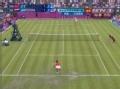 奥运视频-李娜回球出界 汉图楚娃决胜局占先机