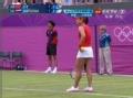 奥运视频-李娜拉斜线压界 保住发球局扳回一城