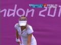 奥运视频-李娜接发球过高 汉图楚娃吊小球得手