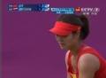 奥运视频-李娜大力发球 汉图楚娃上网回击挂网