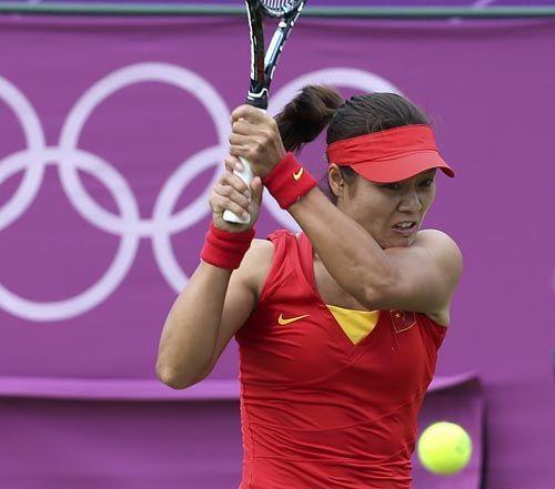 李娜:奥运不止对中国人重要 努力尝试打双打