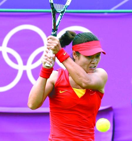 昨日,网球女子单打李娜1:2不敌汉图科娃惨遭淘汰