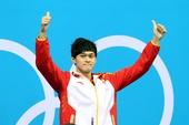 图文:孙杨摘男400自金牌 终于站上领奖台