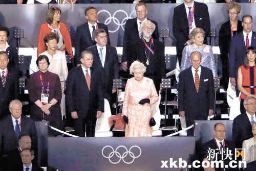 伦敦奥运会开幕式 血统图片