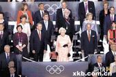 图文:伦敦奥运会开幕式 血统