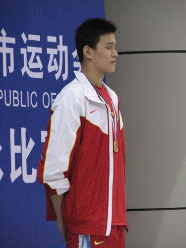 2007年3月,国宝杨在墨尔本迎来了自己的首个国际大赛。同年的下半年,城运会上一鸣惊人,为自己入选北京奥运会增加了筹码。