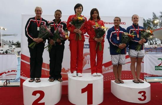 2010系列赛墨西哥女双3米板冠军