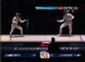 奥运视频-爱丽丝施冷剑 女子花剑意大利VS韩国