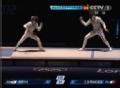 奥运视频-爱丽丝秀点杀 女子花剑意大利胜韩国