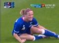 奥运视频-波姆帕丝特遭剪刀脚 女足法国VS朝鲜