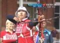 奥运视频-斯特潘诺娃首射中十环 英国VS俄罗斯