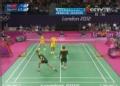 奥运视频-柴飚连续快打球得分 男子双打小组赛