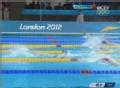 奥运视频-赵菁第四跻身半决赛 女子100米仰泳