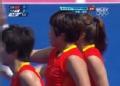 奥运视频-马弋博用短角球攻破大门 中国VS韩国
