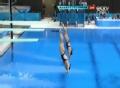 奥运视频-吴敏霞何姿101B获高分 女子双人3米板