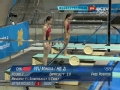 奥运视频-吴敏霞何姿5331D第一 女子双人3米板