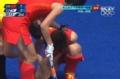 奥运视频-中国传球失误直击付宝荣 所幸无大碍