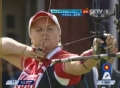奥运视频-蒂娜一箭制胜 射箭中华台北VS俄罗斯