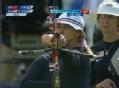 奥运视频-托马西怒射命中十环 射箭中国VS美国