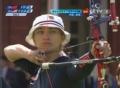 奥运视频-詹妮弗鹰眼怒射10环 射箭中国VS美国