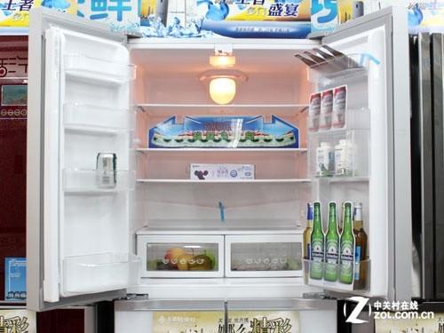 大容积高性价比 美菱多门冰箱跌破7千元