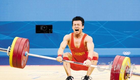 吴景彪最后一次试举失败 新华社记者 公磊 摄