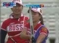 奥运视频-佩洛娃首射9环领先 射箭中国VS俄罗斯
