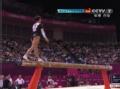 奥运视频-德国邱妈妈平衡木 观众选手齐送掌声