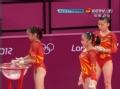 奥运视频-中国跳马女将齐上阵 女子体操资格赛