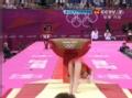 奥运视频-姚金男失误再落马 脚部伤病困扰女将