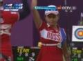 奥运视频-蒂莫菲娃9环打平 射箭日本VS俄罗斯