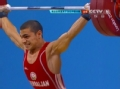 奥运视频-瓦伦丁怒吼抓举127kg 举重男子56kg级