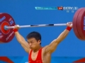 奥运视频-吴景彪再战130kg成功 举重男子56kg级