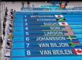 奥运视频-美名将索尼第一名晋级 女子100米蛙泳