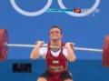 奥运视频-鲁斯兰挑战145kg失败 举重男子56kg级