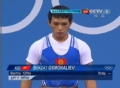 奥运视频-贝尔扎挺举操之过急 举重男子56kg级