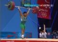 奥运视频-贡格拉挺举轻松拿下 举重男子56kg级