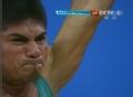 奥运视频-贡格拉奋力挺举157kg 举重男子56kg级