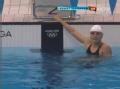 奥运视频-赵菁小组第二 晋级女子100米仰泳决赛