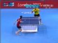奥运视频-李晓霞二局比分焦灼 乒乓球女子单打