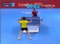奥运视频-李晓霞进攻加强力旋转 对手猝不及防